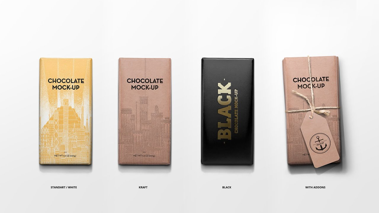 Download Mock-Up. Packaging Chocolate. - YouTube