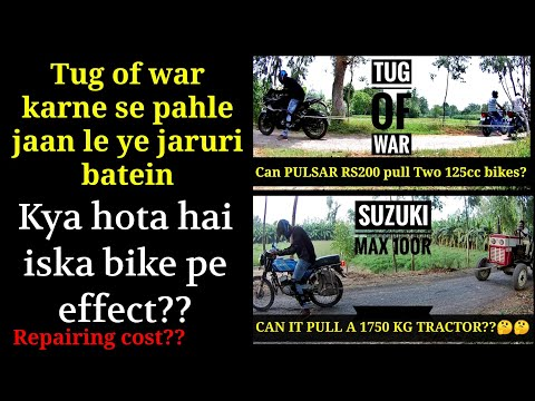 Tug Of War affects my bike Feat. Ayush Verma | PULSAR RS200