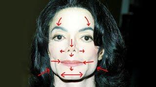 Removing MICHAEL JACKSONS Plastic Surgery