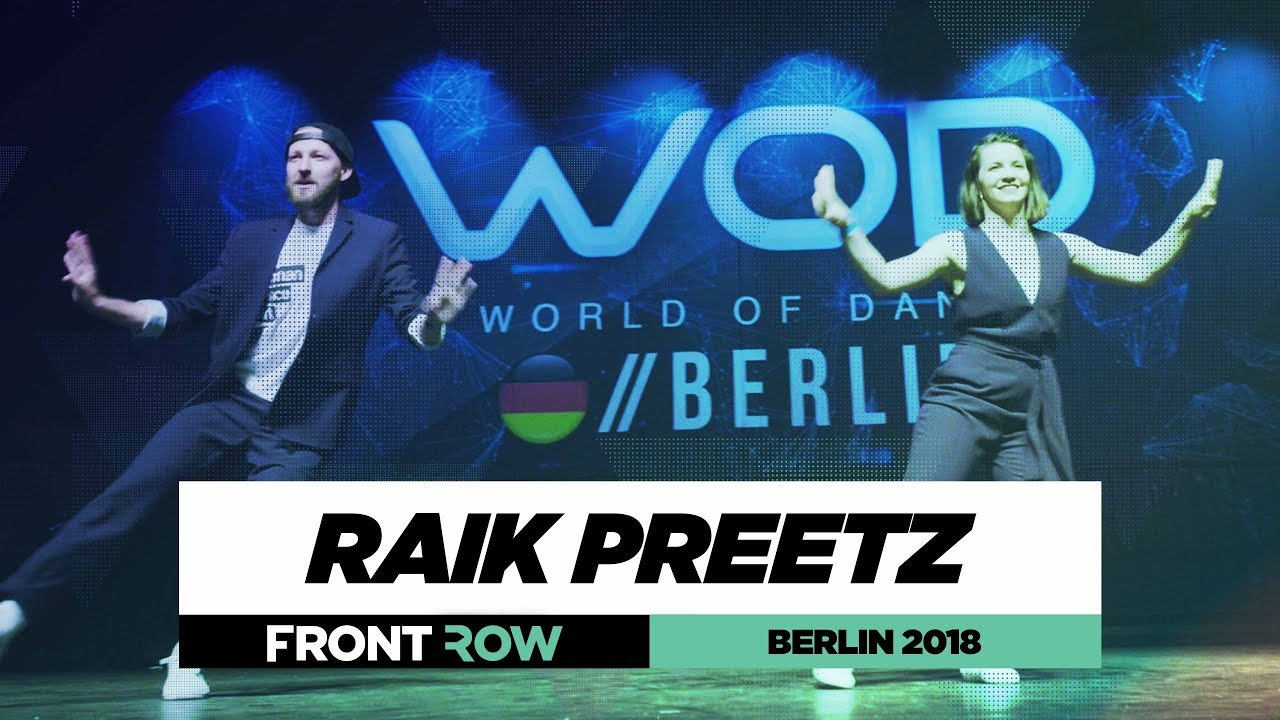 Raik Preetz | FrontRow | World of Dance Berlin 2018