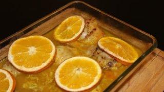 Готовим сами. Куриные голени в апельсиново - чесночном маринаде