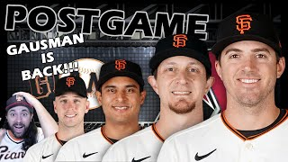 The Return of GAUSMAN!! SF Giants vs AZ Diamondbacks POSTGAME Show