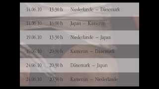 Spielplan der Fußball WM 2010