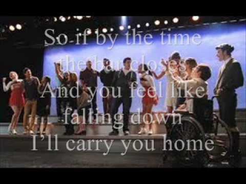 We Are Young Glee Lyrics