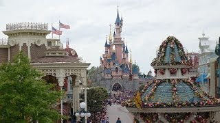 Disneyland Paris Walking around the park June 2014
