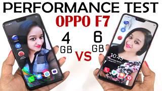OPPO F7 4GB VS OPPO F7 6GB ??????
