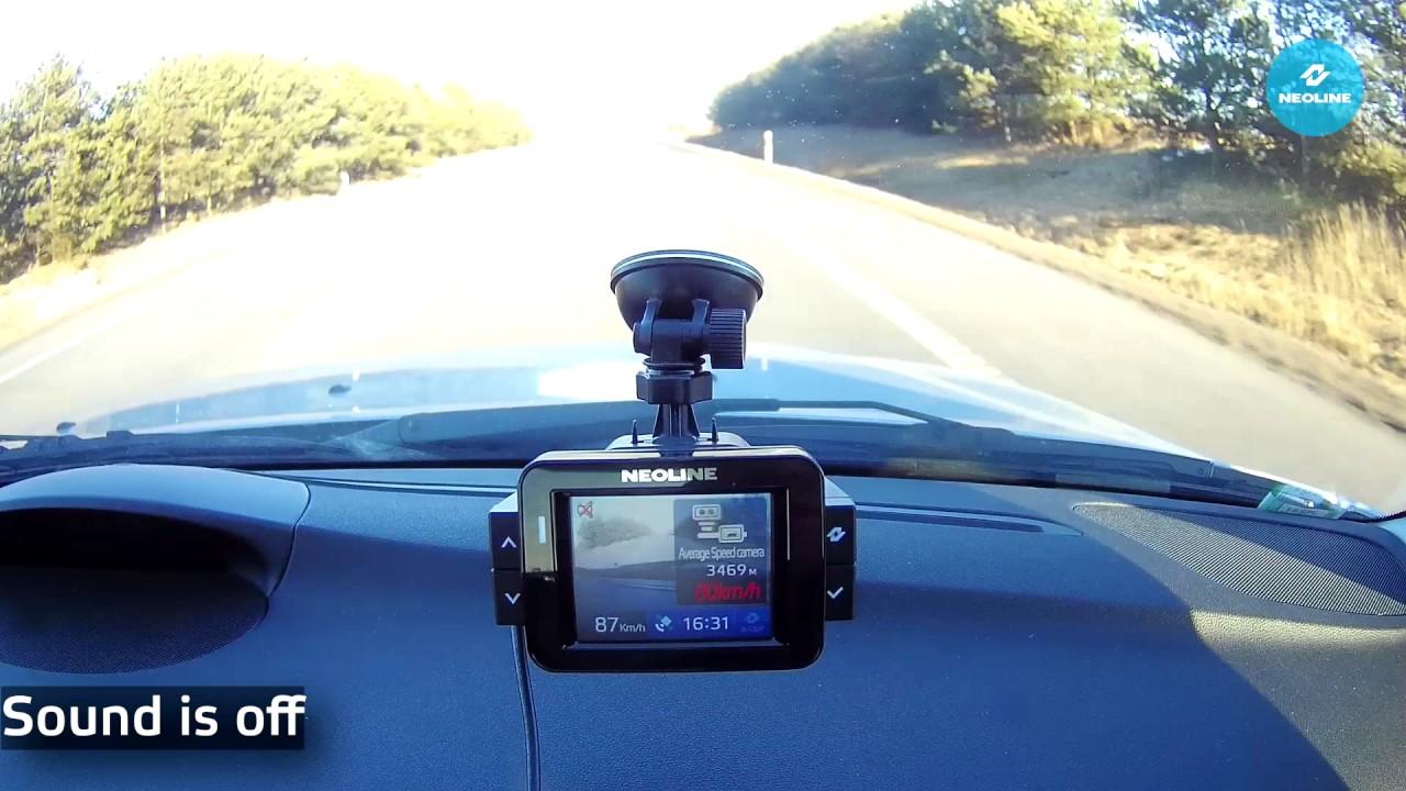 "NEOLINE X-COP 9000 vs Average Speed Control system ""Trip ..."