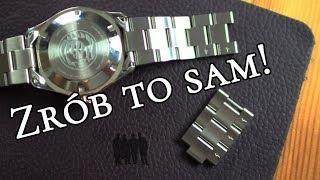 Jak dopasować lub wymienić bransoletę w zegarku – Czas Gentlemanów