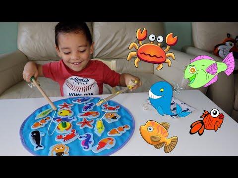 Fishing Game For Children | Fishing For Kids| TEPSMIGO Magnetic Fishing