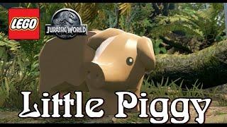 LEGO Jurassic World Raptor Tracking Little Piggy