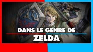 3 jeux dans le genre de Zelda