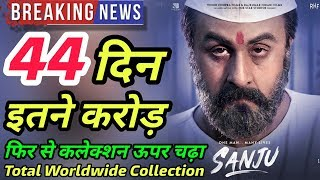Sanju Box Office Collection Day 44 | Total Worldwide Collection Till Now
