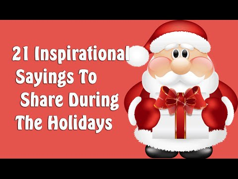 Good Christmas Quotes   21 Inspirational Sayings To Share During The Holidays