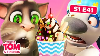vuclip Talking Tom and Friends - Hank's New Job (Season1 Episode 41)
