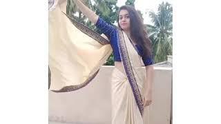 How To Pose  N Saree Different Poses  N Saree Simple And Elegant Santoshi Megharaj