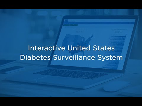 Interactive United States Diabetes Surveillance System