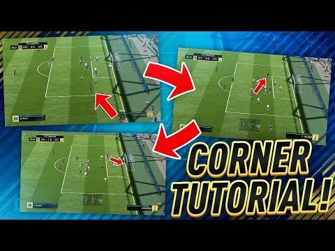 UNSTOPPABLE CORNER KICK TUTORIAL!! HOW TO SCORE CORNERS ON FIFA 18!