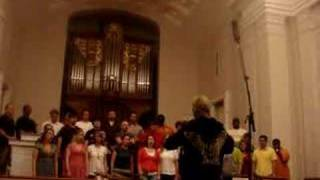 eric whitacre and ole miss concert singers lux aurumque