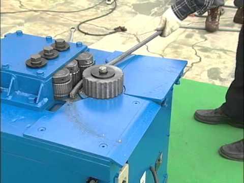 TYR-HD25B.wmv - Máy uốn thép hình tròn hoặc lò xo