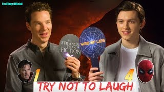 Avengers 4: End Game Cast- Tom Holland & Benedict Cumberbatch Play True Or False - Funny Game 2018