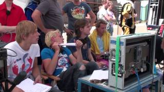 Videoblog van de laatste draaidag Sinterklaas en de verdwenen Pakjesboot voor Sinterplaza.NL