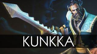 История Героя - Кунка | Dota 2 | Kunkka