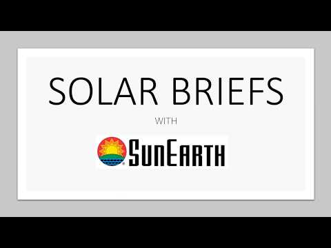 SunEarth Solar Brief - Hot Water