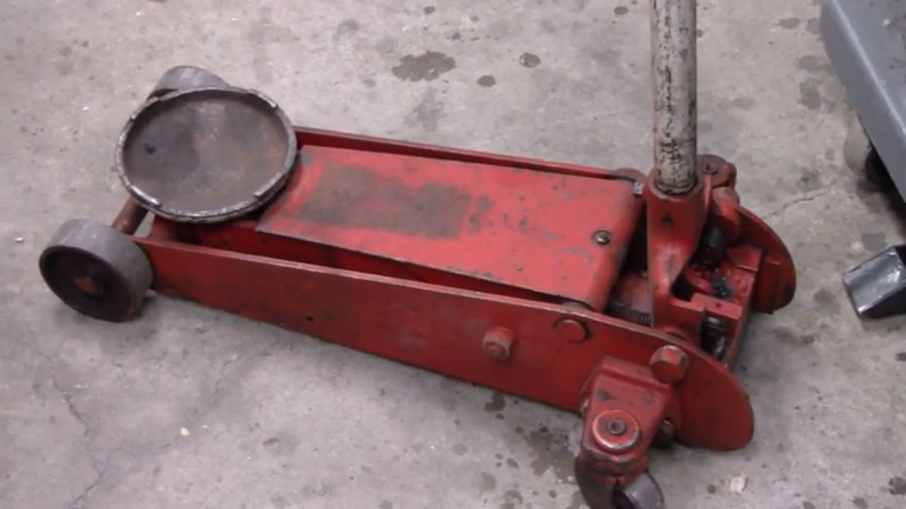 Hydraulic Floor Jack Rebuild Youtube