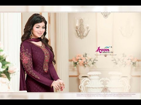 Latest Indian Dresses Collections 2017 || Ayesha Takia Salwar suits ||AVON TRENDZ STAR BRASSO VOL 5