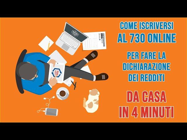 VIDEO 1 - Iscriviti al nuovo servizio 730 Online di Caf Acli