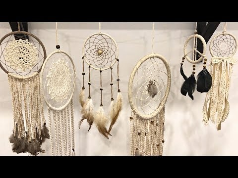 DIY Tutorial - How To Make A Dreamcatcher ?