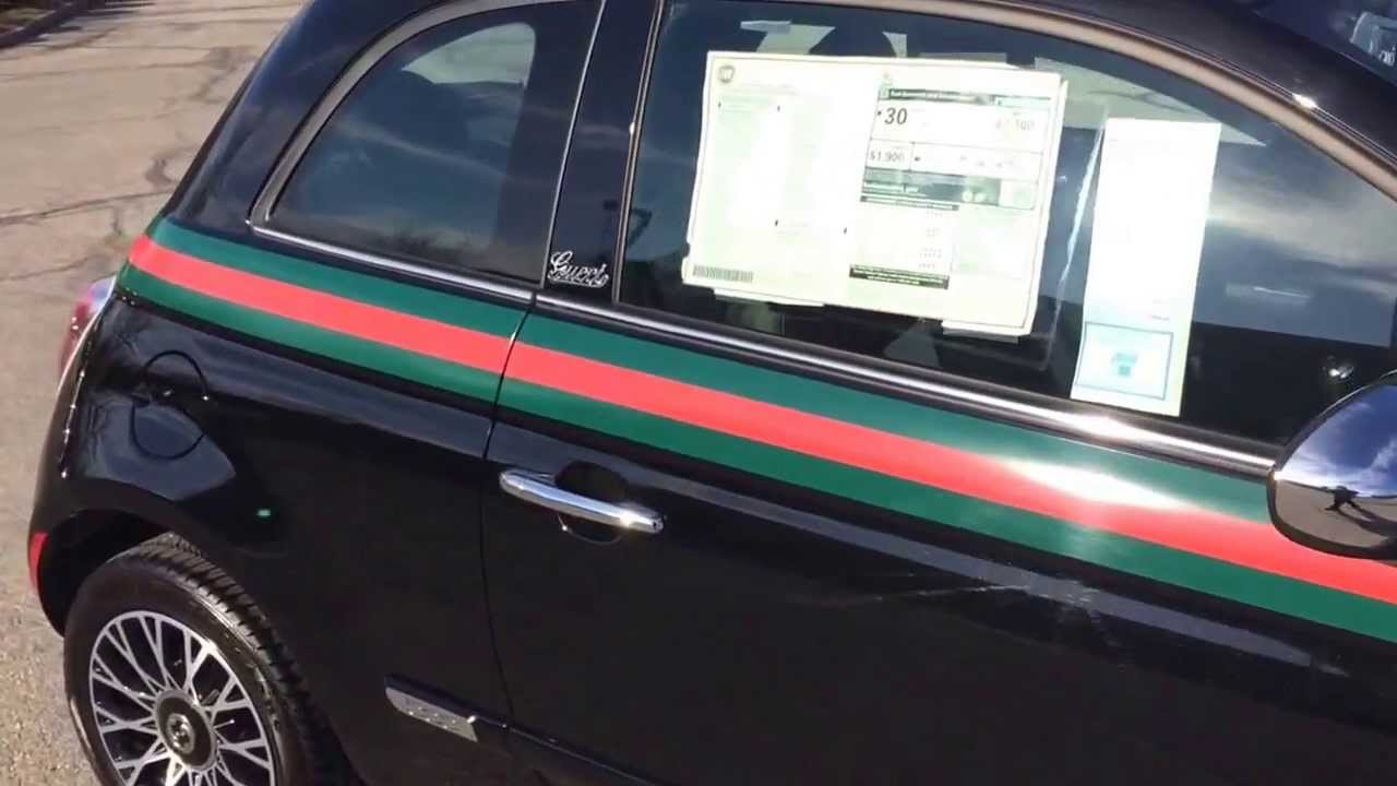small resolution of 2013 fiat 500 lounge gucci at crown fiat