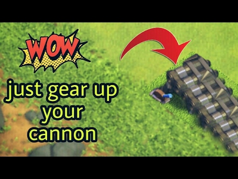GEAR UP your cannon with amazing power!! Clash Of Clans