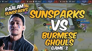 PAALAM SUNSPARKS - SUNSPARKS VS BURMESE GHOULS - GAME 3