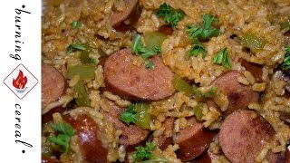 Spicy Sausage and Rice One Pot Meal