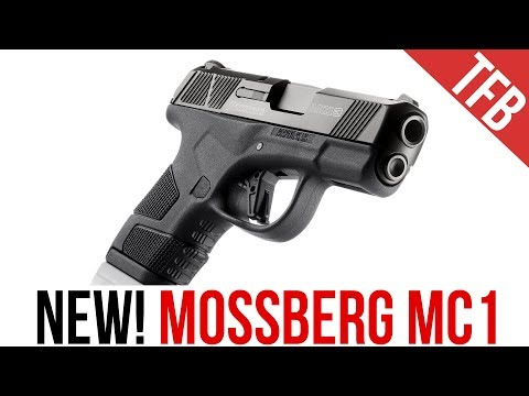 The NEW Mossberg MC1 Single Stack 9mm Pistol (It Takes Glock Mags