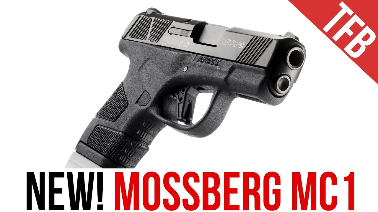 The NEW Mossberg MC1 Single Stack 9mm Pistol (It Takes Glock Mags!)