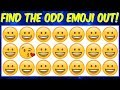 Can You Find the Odd Emoji Out in These Pictures puzzles? Emoji Puzzle Brain games | Odd one out