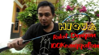 review raket badminton hiqua nano speed 70