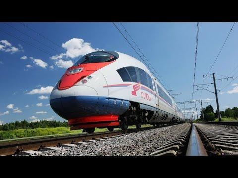 Зайцем снаружи высокоскоростного поезда Сапсан/High-speed Trainsurfing