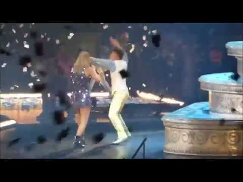 Taylor Swift Falling at the Reputation Stadium Tour