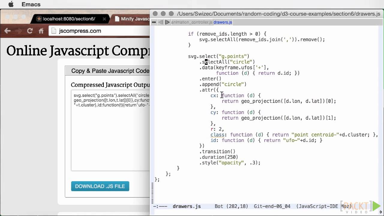 Mastering D3 js Tutorial: Structuring Your Code | packtpub com