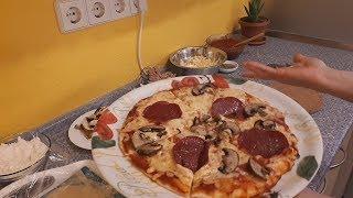 Pica  Shtepie Margarita-Suxhuk-Tuna Pizza