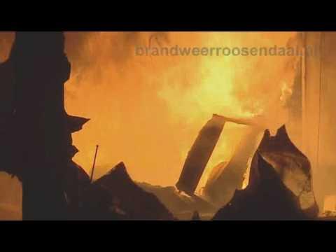 Uitslaande brand Anna Bijnslaan Roosendaal
