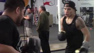 OSCAR VALDEZ THE CHAMP UNLEASHING THE POWER!!