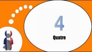урок французского языка = Числа составляют от 1 до 9