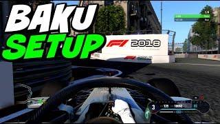 F1 2018 BAKU HOTLAP + SETUP (1:37.015)