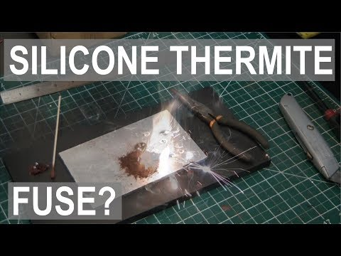 Silicone Microfuse - Light Thermite with ease! Adding Iron to the Periodic Table - ElementalMaker