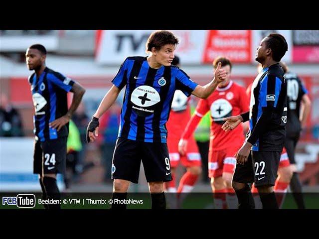 2015-2016 - Jupiler Pro League - 21. KV Kortrijk - Club Brugge 1-4