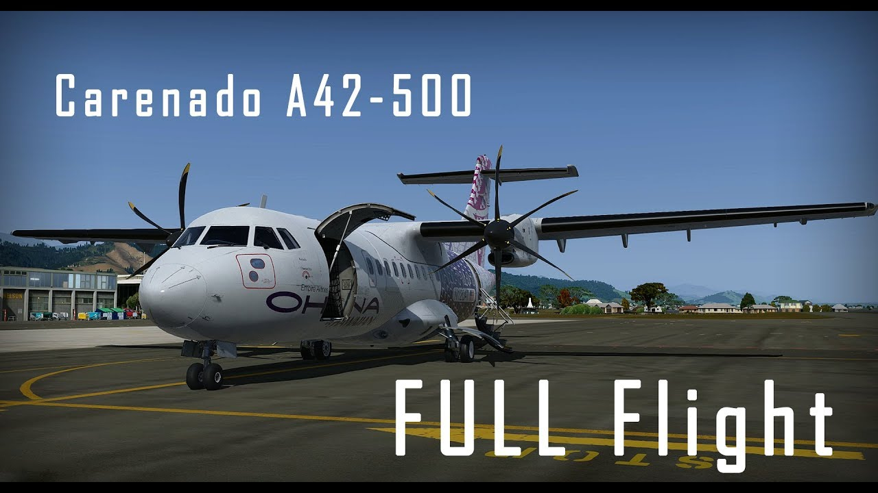 [P3Dv4 5]Careando A42-500 || Nelson to Wellington || Full Flight Documentary